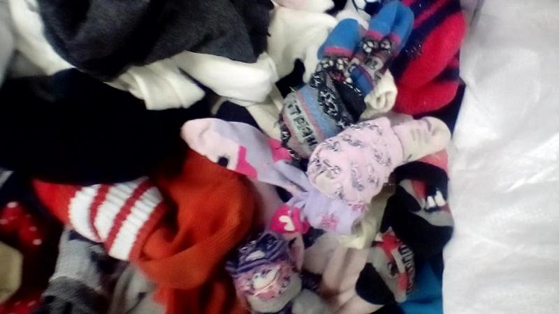 Сортировка одежды, секон-хенд, тропикал