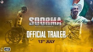 Soorma   Official Trailer   Diljit Dosanjh   Taapsee Pannu   Angad Bedi