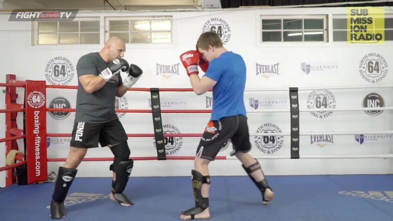 Sam Greco | Surprise Counter Inside Leg Kick