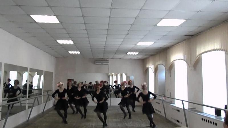 Народный танец 2 курс 1 подгруппа 2 11062018