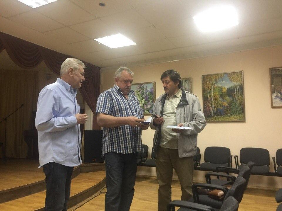 Гендиректор радио «Орфей» Ирина Герасимова встретилась со слушателями в досуговом клубе Савеловского
