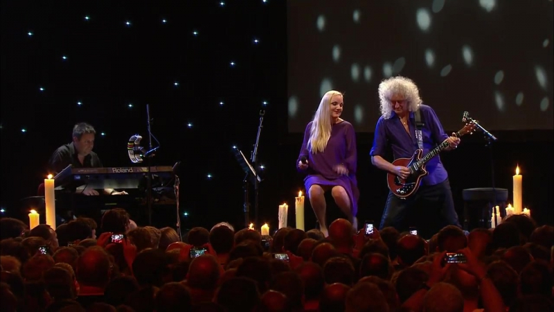 Brian May Kerry Ellis - Tie Your Mother Down, Live At Montreux (2013) 720