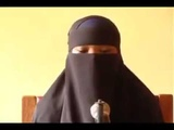 Somali girl reading the Quran with a very beautiful voice