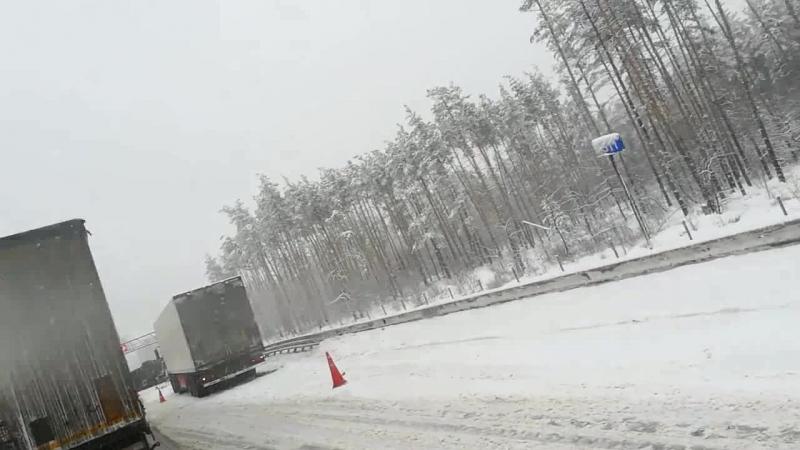Воронеж. M4 в сторону Москвы.