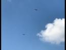 Шифер скрыши слетел: штурмовики Су-25ВВСУкраины набреющем полёте пугают Мариуполь