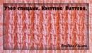 Knitting Stitch How to - Pattern Tutorial Вязание спицами Красивый узор для детей