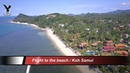 Flug zur Beach / Flight to the beach / Koh Samui / Baan Tai