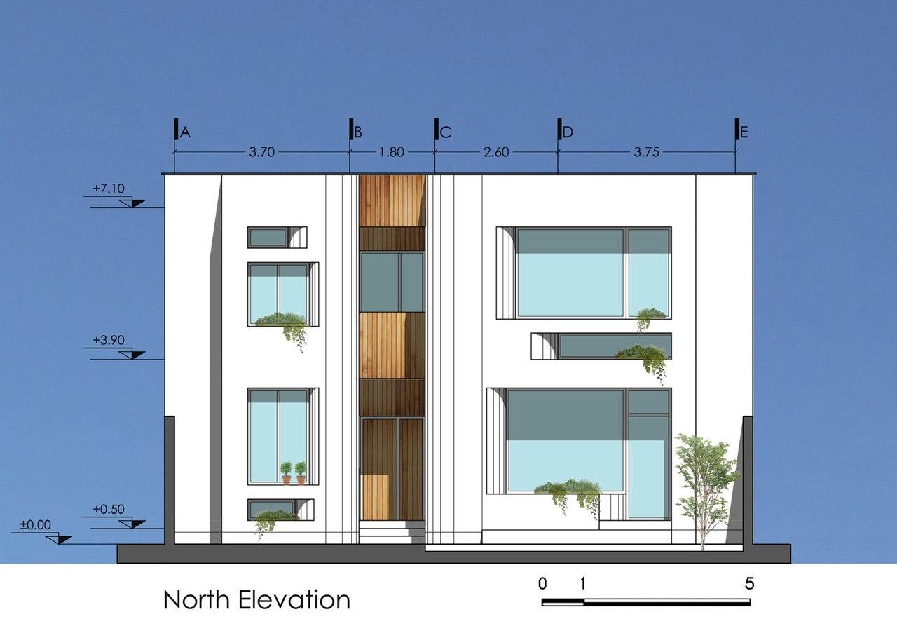Bahar House / Ayeneh Office