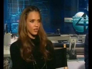 Jessica Alba UP CLOSE  On her Career and Fantastic Four 2