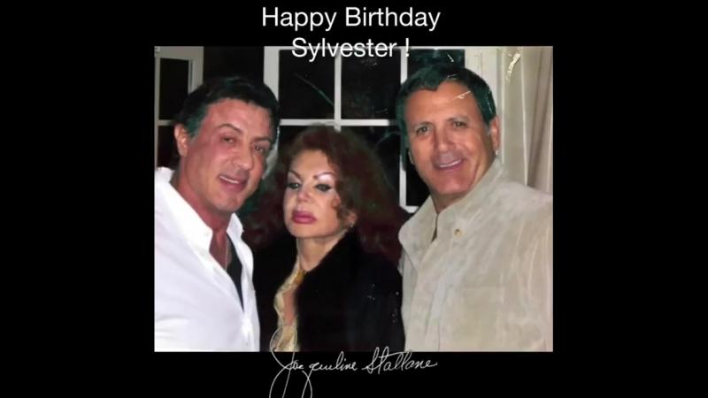 Инстаграм Жаклин Сталлоне Поздравляю с днём рождения моего сына Сильвестра Сталлоне