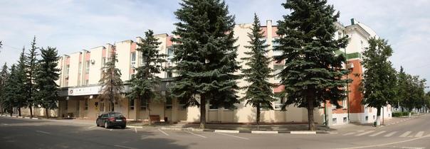 Здание администрации городского округа. Обычное такое