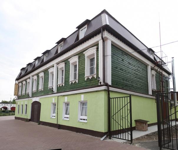 Отлично отреставрировали дом: https://vk.com/wall16174219_35845  Отличная, красивая гостиница.