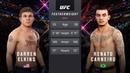 DARREN ELKINS vs RENATO CARNEIRO EA SPORTS UFC 3 CPU vs CPU GAME PS4