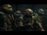 Трейлер черепашек-ниндзя в Injustice 2.