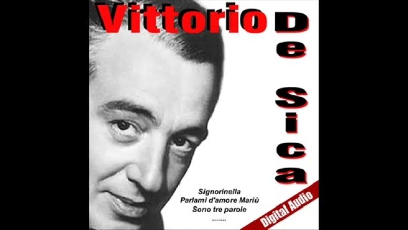 Vittorio de Sica - Parlami damore Mariù (Alta Qualità Musica Italiana)