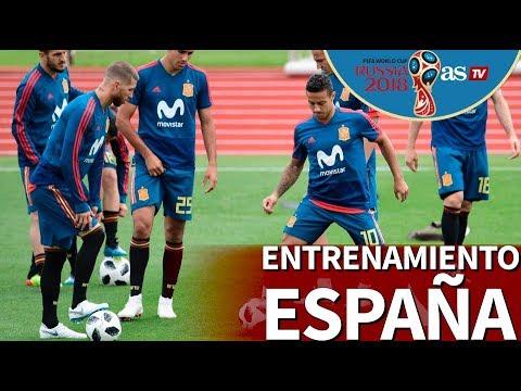 Mundial 2018 I Primer entrenamiento de España desde Rusia I Diario AS