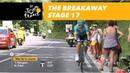 The breakaway Stage 17 Tour de France 2018