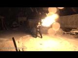 Огнемёт Илона Маска vs Zombie