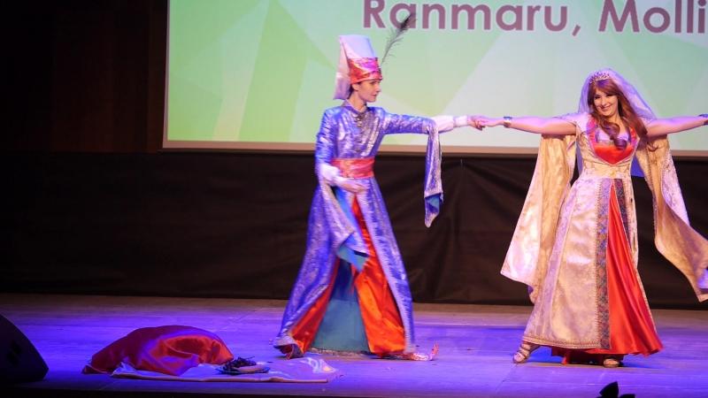 3.338. Восточные сказки - Султан, Восточная красавица - Ranmaru, Molli