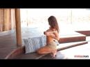 All natural tits - Anastasia Harris striptease 21