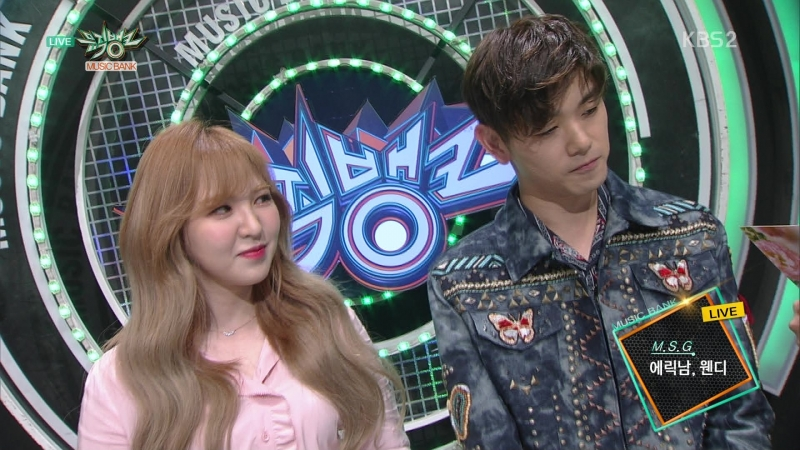 180413 Eric Nam (에릭남) Wendy (웬디) - Interview (인터뷰)