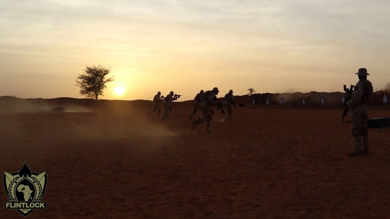 DFN: Flintlock 2018 Training in Tahoua, Niger (social media), TAHOUA, NIGER, 04.14.2018