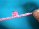 Видеоурок вязания крючком . Витой узелок – 2 способ .