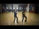 Dexter Santos Joe DeMers - Hound Dog Blues Solo Dance Routine