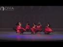 Танец живота, номер Арабское фламенко , хореограф Александра Юшкова