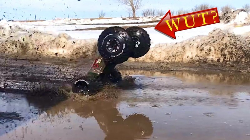 CENTRiFUGAL FORCE DEFORMS TiRES in SLOW MO! This is what happens to Unsealed Tires! | RC ADVENTURES