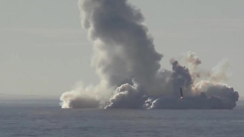 Атомный крейсер ударил по Камчатке «Булавой»
