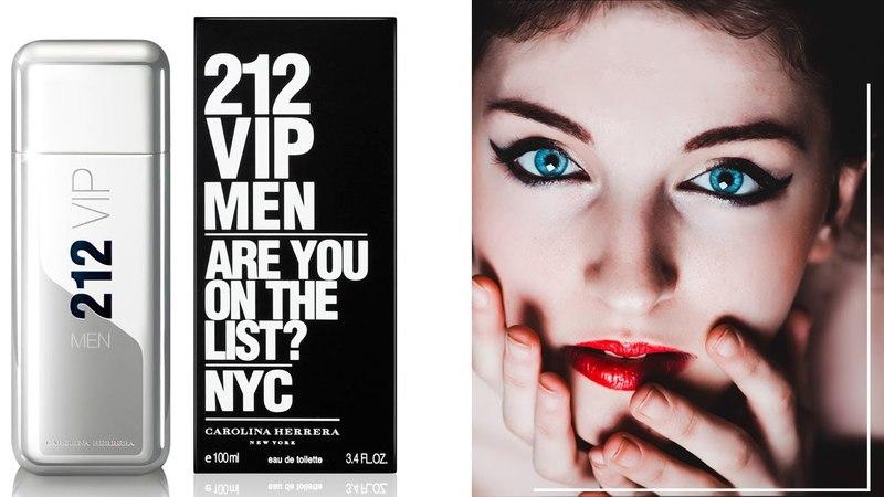 Carolina Herrera 212 Vip Men Каролина Херрера 212 Вип Мен обзоры и отзывы о духах