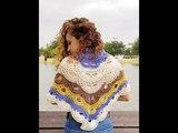 Chal bufanda virus a crochet
