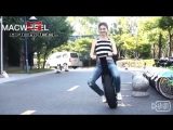 Одноколесный электрический скутер