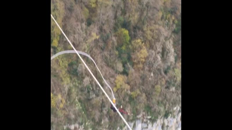 Скайпарк Эй Джей Хаккетт - Bungy 207 метров 🙈