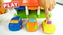 КУКУТИКИ PLAY - Поиграйка с Егором - КУКУ Плей - Домик чемоданчик - гараж для машинок