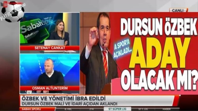 Dursun Özbek ve yönetimi ibra edildi! Setenay Cankat, Osman Altunterim Yorumları 1 Nisan 2018