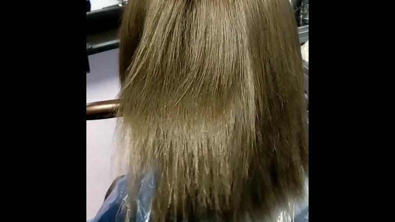 кератиновое выпрямления для блондинок