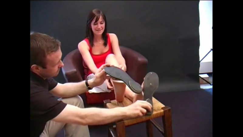 Paulines Feet Gets Tickled