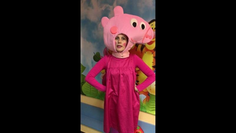 Озорная свинка Пеппа