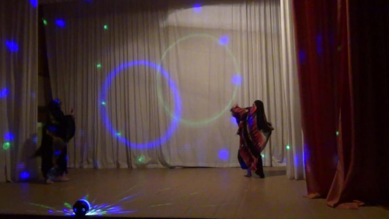 Багира под руководством Галины Шишкиной сахарский танец