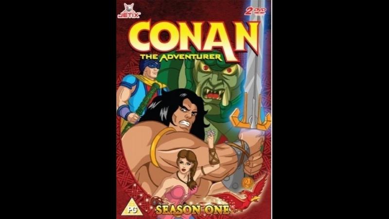 Конан: Искатель приключений Conan: The Adventurer сезон 1 серия 1-2