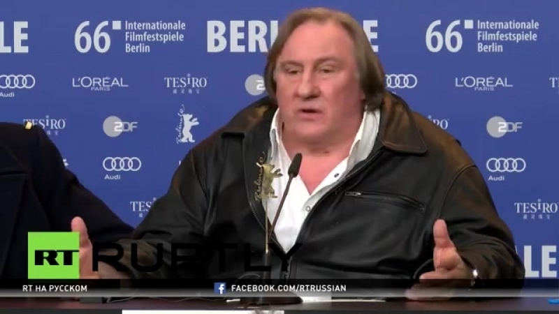 Жерар Депардье_ Я по-настоящему люблю Россию и безмерно уважаю Владимира Путина