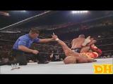 """The Rock vs Hulk Hogan """"highlights"""" No Way Out 2003"""