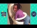 TRY NOT to LAUGH or GRIN - Funniest Kids Fails Compilation April 2018 | Funny Vine