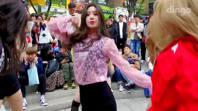 (이거 대박!) 홍대 뒤집어진 신인 걸그룹 댄스 실화! 씨엘부터 방탄까지 [댄스버스킹] (여자)아이들 Dance Busking - (G) I-D