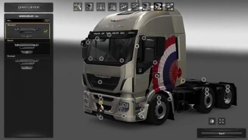 Mod Аксессуары Iveco Hi Way для Euro Truck Simulator 2