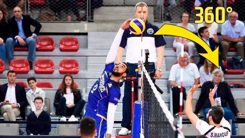 TOP » 10 Crazy Actions by Earvin NGapeth. Volleyball Nations League 2018.