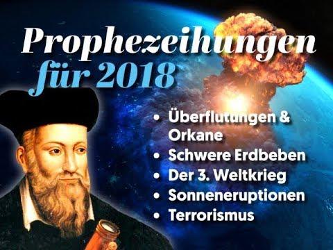 Nostradamus: 6 erschreckende Vorhersagen für 2018, die sich langsam bewahrheiten