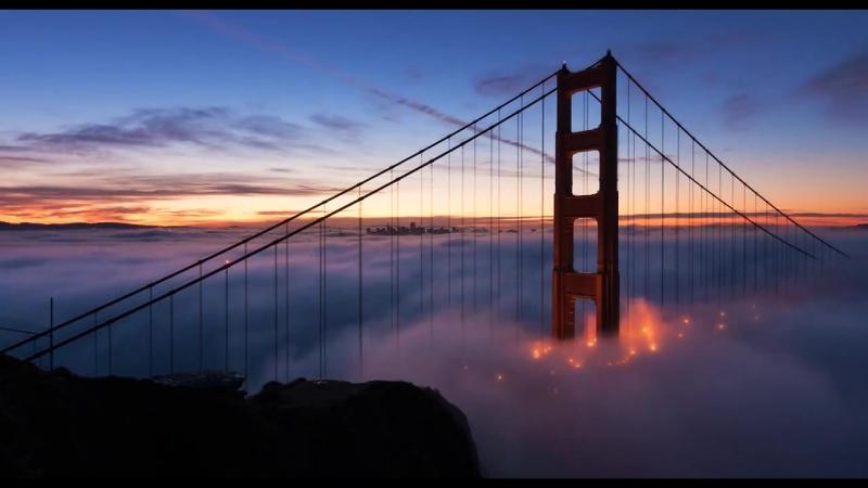 Сан Франциско, мост золотые ворота США) _ San Francisco, golden gate bridge (USA
